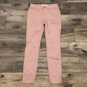 PacSun Pink Ankle Jeans